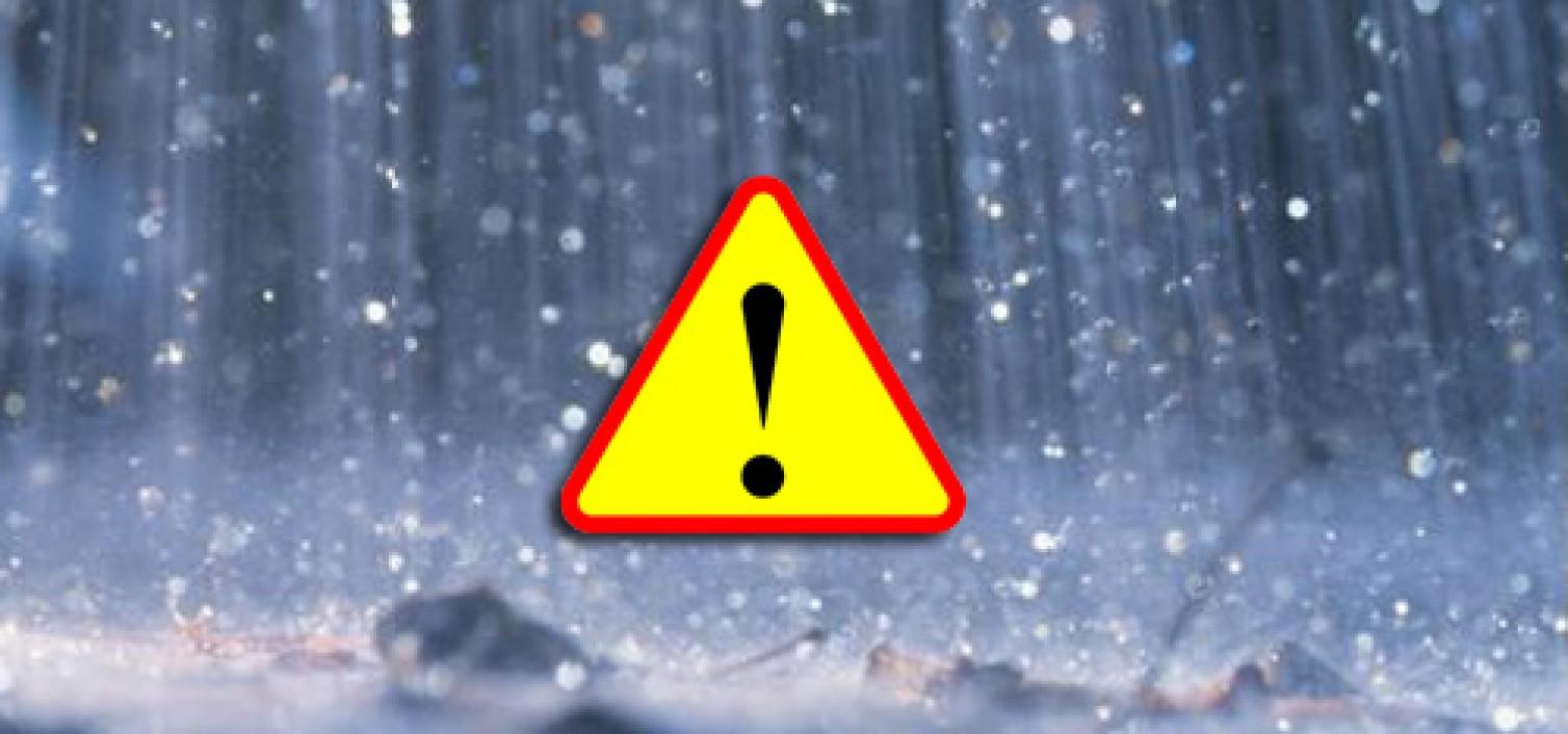 Ostrzeżenie  meteorologiczne nr 32